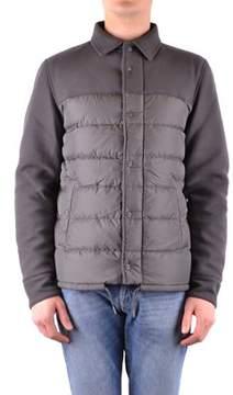 Herno Men's Brown Polyamide Down Jacket.