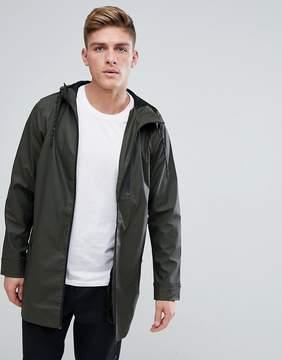 Brave Soul Rubberised Rain Jacket