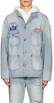 R 13 Men's Evelyn Denim Mechanic Jacket
