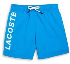 Lacoste Boy's Logo Swim Trunks
