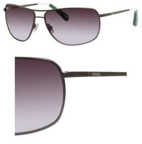Fossil 3013/S Sunglasses 0JKB 62 Matte Dark Ruthenium