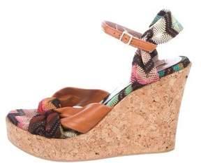 Missoni Woven Wedge Sandals