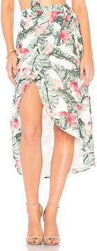 Privacy Please Java Wrap Skirt