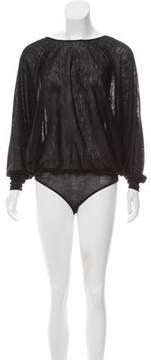 Barbara Bui Dolman Sleeve Bodysuit