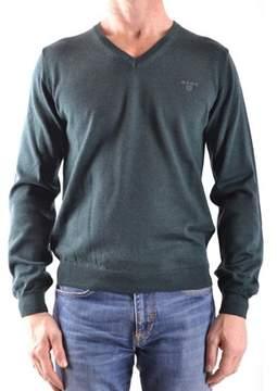 Gant Men's Green Wool Sweater.