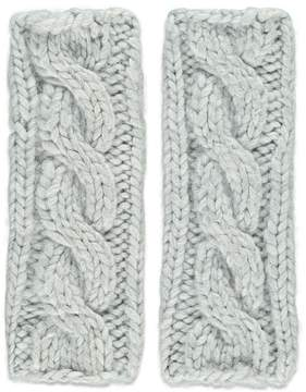 Forever 21 Cable Knit Fingerless Gloves
