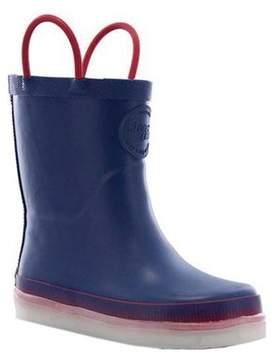 Western Chief Boys' Tech Solid LED Rain Boot