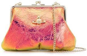 Vivienne Westwood iridescent cross body bag