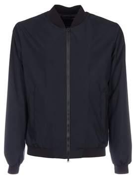 Herno Men's Blue Polyamide Outerwear Jacket.