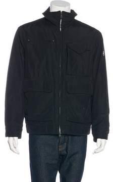 Victorinox Mock Neck Zip-Up Coat