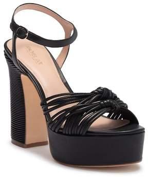 Rachel Zoe Avery Nappa Platform Sandal