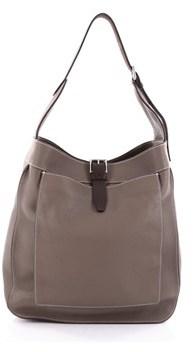 Hermes Pre-owned: Marwari Handbag Clemence Gm. - BROWN - STYLE
