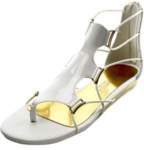 Very Volatile Clea Women Open Toe Synthetic Gladiator Sandal.