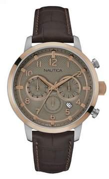 Nautica MEN'S WATCH NCT 15 CHRONO 44MM