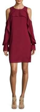 Saks Fifth Avenue BLACK Ramsey Cold Shoulder Dress