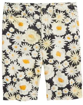 Burberry Tristen Daisy Print Shorts
