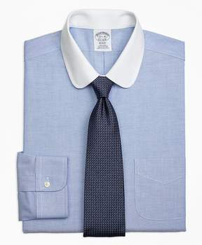 Brooks Brothers Non-Iron Regent Fit Contrast Golf Collar Dress Shirt