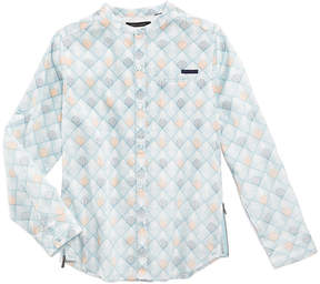 Sean John Reflections Cotton Shirt, Big Boys