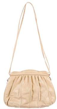 Judith Leiber Karung Zip Shoulder Bag