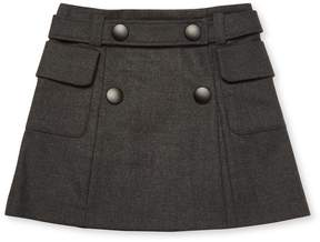Marni Belted Wool Skirt