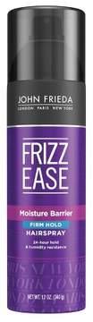 John Frieda Frizz Ease Moisture Barrier Firm Hold Hair Spray - 12oz