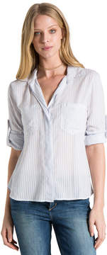 Bella Dahl Split Back Button Down-Moon Shadow-XS