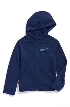 Nike Boy's Dry Logo Zip Hoodie