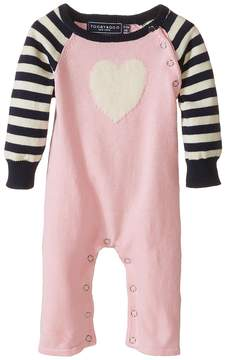 Toobydoo Sweet Heart Jumpsuit Girl's Jumpsuit & Rompers One Piece