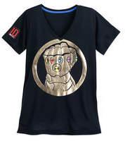 Disney Thanos Infinity Gauntlet T-Shirt for Women - Marvel's Avengers: Infinity War