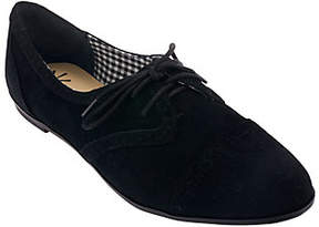 Isaac Mizrahi Live! Suede Oxfords