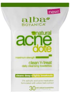 Alba Acnedote Clean 'N Treat Towelettes- 10ct
