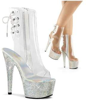 Pleaser USA Women's Bejeweled 1018DM-7 Ankle Boot