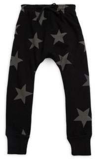 Nununu Boy's Star Cotton Baggy Pants