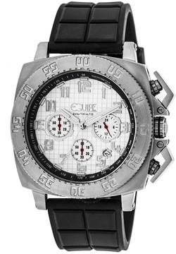 Equipe Tritium Push Chronograph White Dial Men's Watch