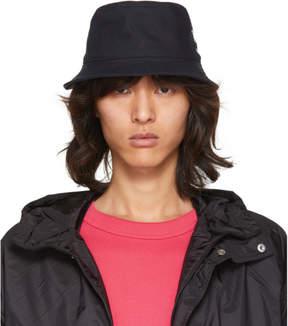 Acne Studios Navy Buk Bucket Hat