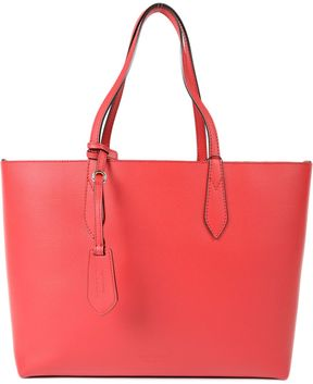 Burberry Medium Reversible Tote - RED - STYLE