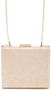 Forever 21 Floral Box Clutch