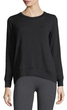 Beyond Yoga Cozy Everyday High-Low Fleece Pullover Sweatshirt