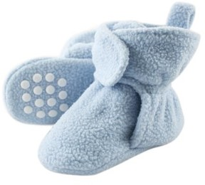 Luvable Friends Fleece Lined Non-Skid Soft Sole Booties (Baby & Toddler Boys)