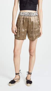 Forte Forte Polished Diagonal Shorts