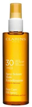 Clarins Sunscreen Care Oil Spray Spf 30 For Skin & Hair