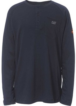 Caterpillar Flame Resistant Long Sleeve Henley (Men's)