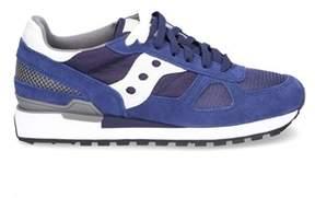 Saucony Men's Blue Suede Sneakers.