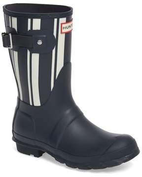 Hunter Garden Stripe Short Boot