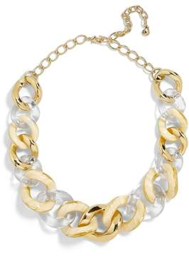 BaubleBar Fabia Mixed Media Link Necklace