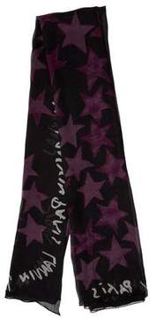 Lanvin Woven Printed Scarf