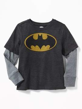Old Navy DC Comics Batman 2-in-1 Tee for Toddler Boys