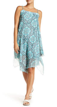 Letarte Split Popover Chiffon Sun Dress