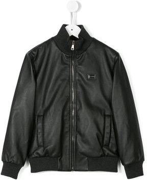 Dolce & Gabbana Kids classic bomber jacket