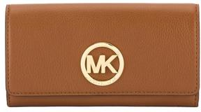 Michael Kors Tan Fulton Carryall Wallet (New with Tags) - TAN - STYLE